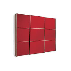 מנגנון הזזה חיצוני דלת מרחפת,  ל 3- דלתות עד 80 ק