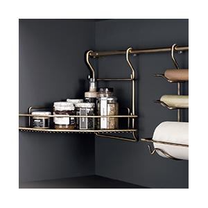 מערכות תלייה שימושית למטבח, דגם LA98_מערכות תלייה לכלי מטבח | פתרונות תלייה למטבח-301