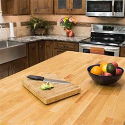 משטחים מעץ למטבח ולריהוט