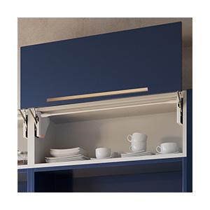 מנגנון סטטי לדלת מיקרו גובה 440-600, דגם EVOLL_קלפה למטבח I מנגנוני הרמה איכותיים לארונות-1740