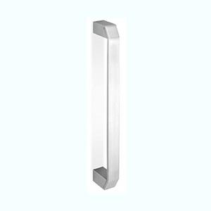 ידית משיכה שטוחה עם קצוות מרובעים, נירוסטה AISI304 מט, דגם 0IT152_ידיות לדלתות פנים וחוץ-289