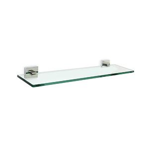 מדף זכוכית למגבות ואביזרי אמבטיה, דגם PL32_מדפים למגבות | מדפים לחדר אמבטיה-658