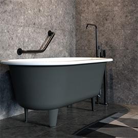 ידיות אחיזה לאמבטיה | ידית אחיזה לשירותים