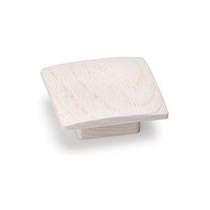 כפתור עץ מרובע, דגם 0167_ידיות כפתור-291