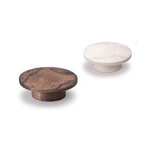 כפתור עץ עגול דגם, 0166_ידיות כפתור-291