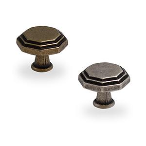 ידית כפתור בסגנון כפרי בעיצוב גיאומטרי, דגם C10819_ידיות כפתור-291