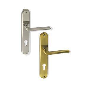 ידית לדלת עם פלטה, דגם DMA70_ידיות לדלתות פנים וחוץ-289