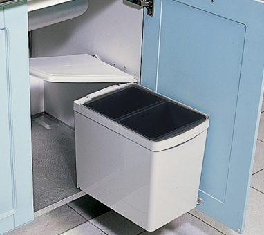 פח אשפה נשלף 15 ליטר (2X7.5) בהרכבה על הדלת, דגם 202_حاويات قمامة قابلة للسحب للمطبخ-1267